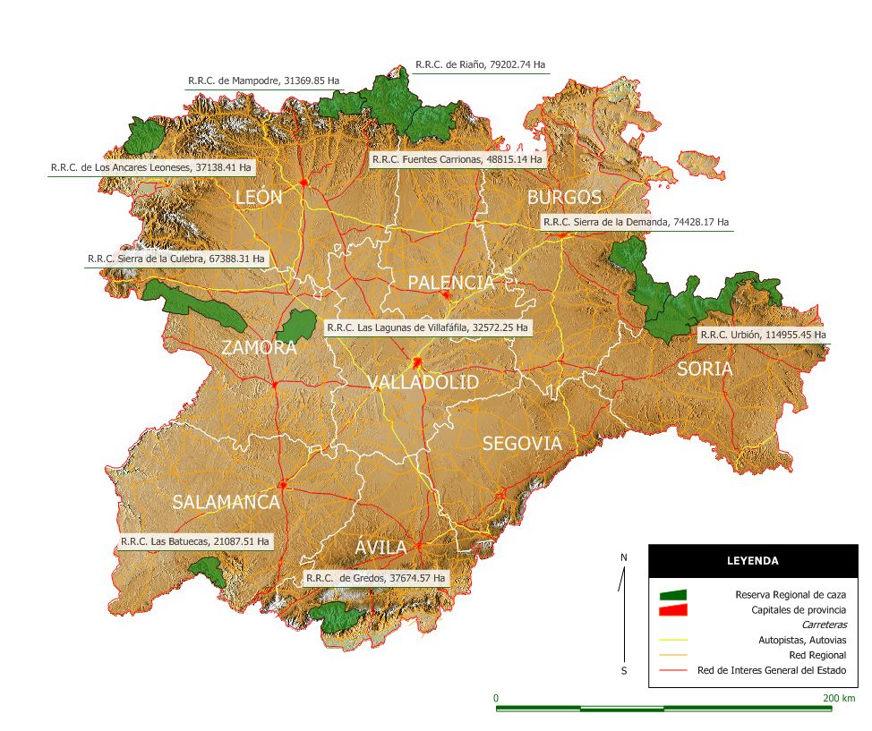 La caza en las Reservas Regionales de Castilla y Len  Subastas